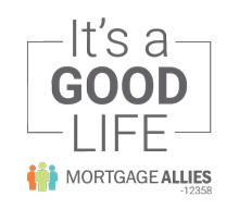 Oakville's Mortgage Allies logo its a good life